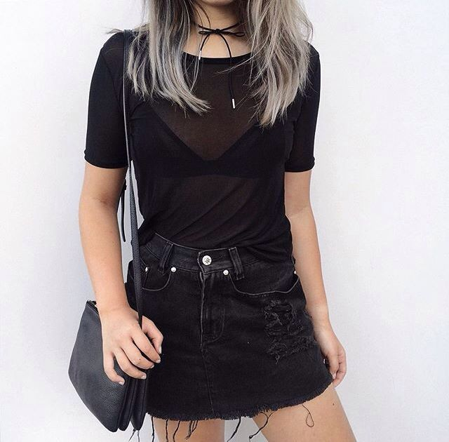 Best 25  Black mesh top ideas on Pinterest | Mesh tops, Party ...