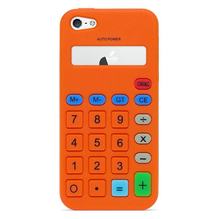 Silikonový kryt kalkulačka pro iPhone 5/5s #AllCases.cz #kryt #case #sleva #iphone #iphone5 #iphone5s