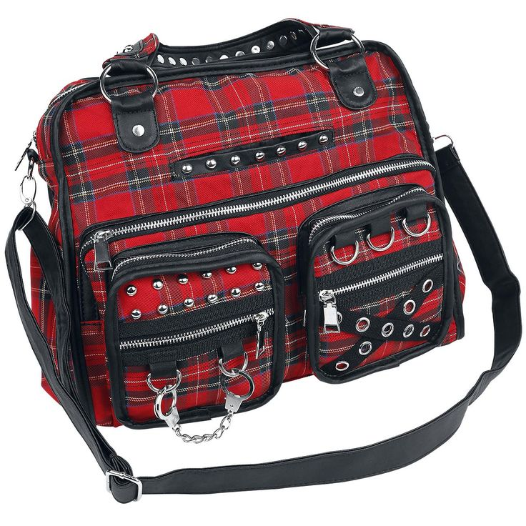 Punk Plaids - Handbag by Jawbreaker