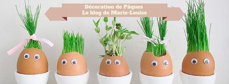 Bonjour les Marie-Louise, Le lundi de Pâques arrive à grand pas, je voulais vous montrer comment réaliser une jolie décoration de Pâques qui fera le plus grand effet chez vous ou à offrir… Ce…