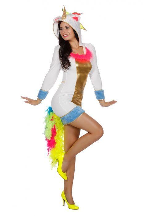 Carnavalskleding Dames Ninja.Eenhoorn Dames Is Een Super Leuk Unicorn Jurkje Met Capuchon En