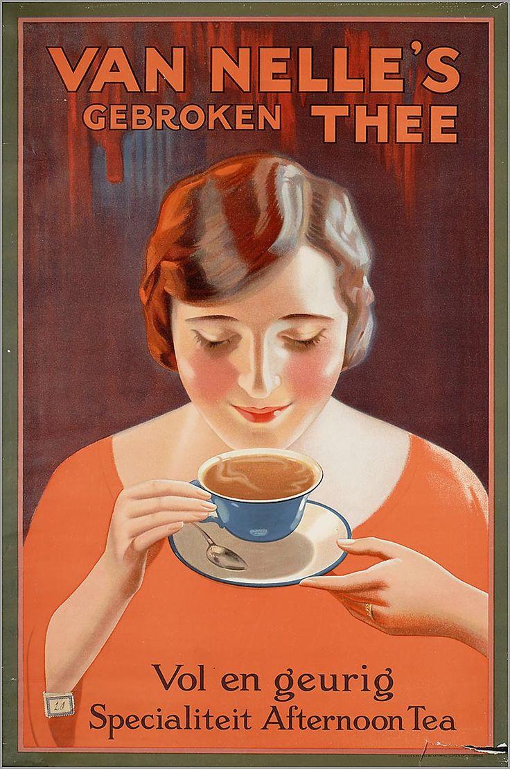 'Van Nelle's gebroken thee' -  (1927~1932)