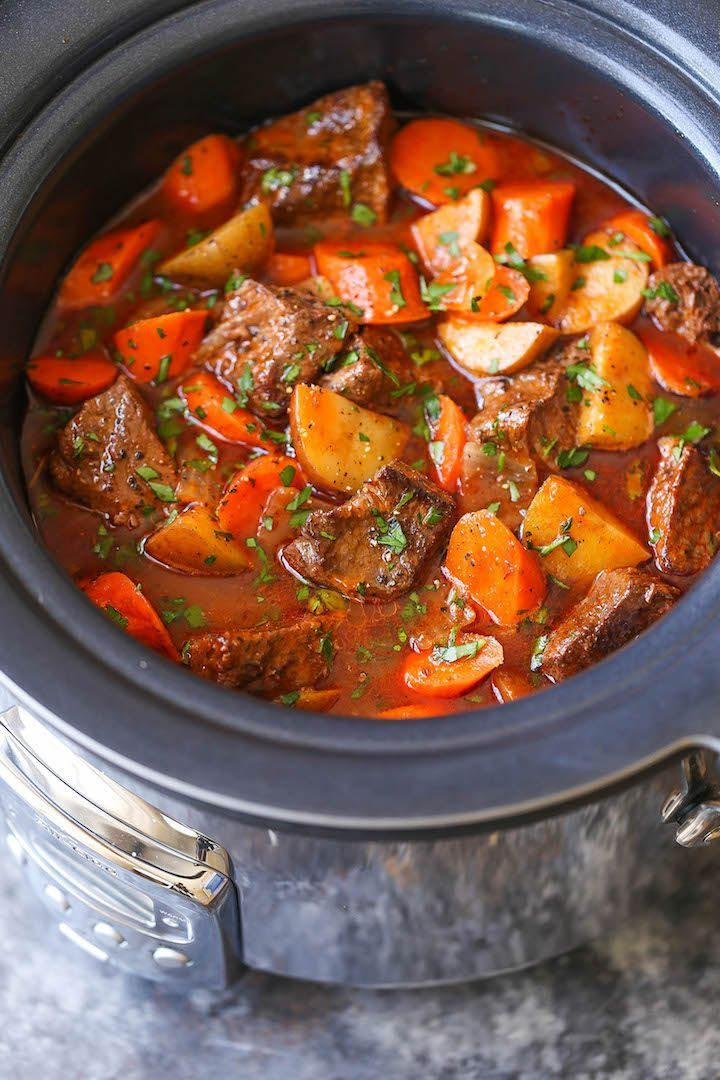 cool SLOW COOKER BEEF STEW
