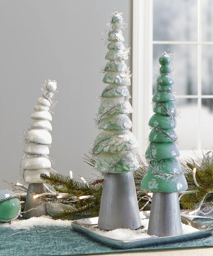 FloraCraft® Smooth Half Ball Trees #christmas #craft