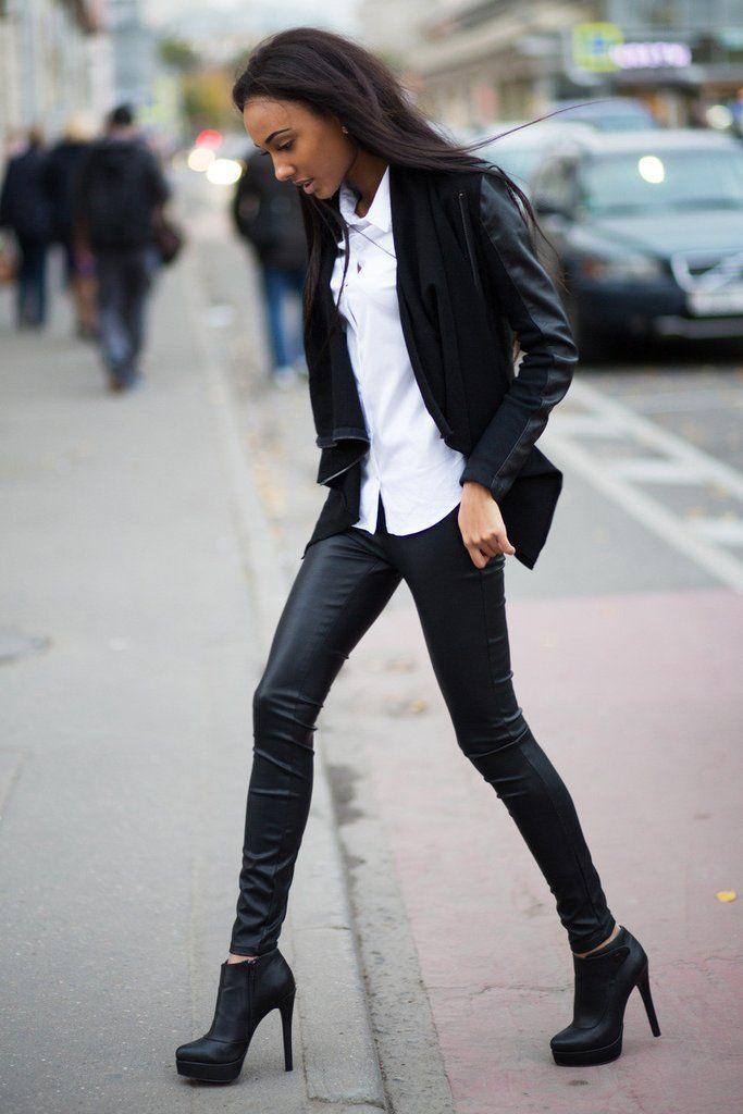Кожаные штаны BlankNYC