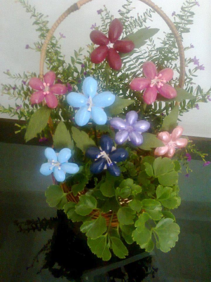 Pistachio Shell Flowers Craft Pinterest Pistachios