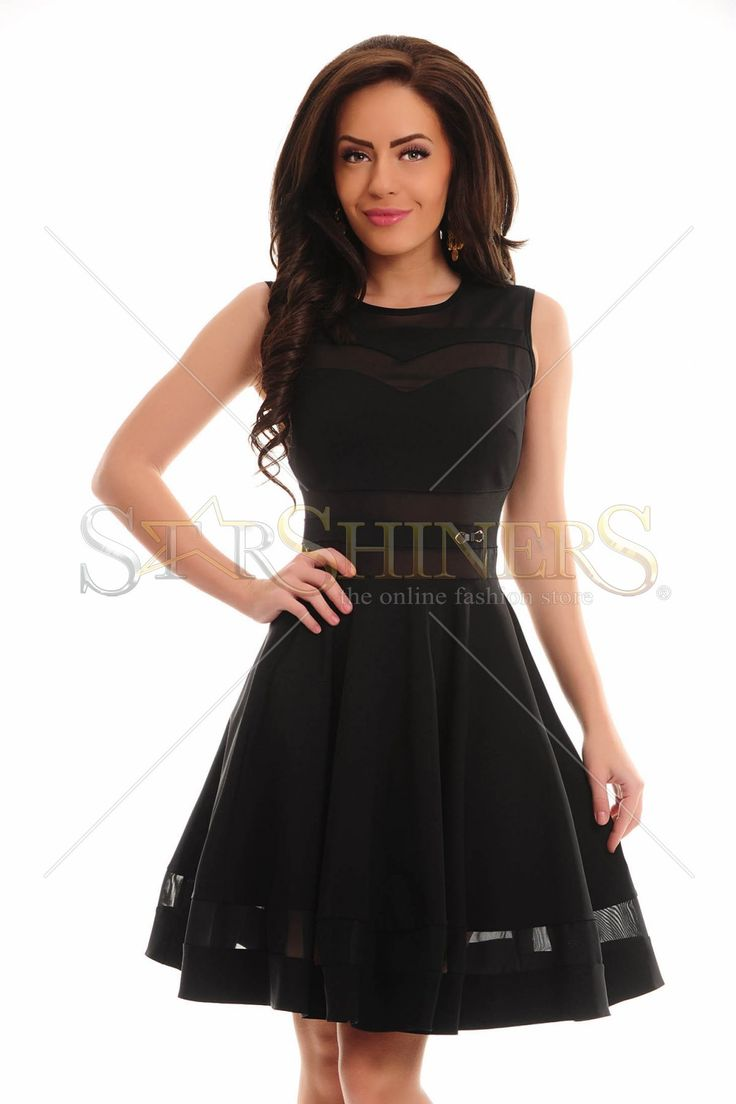 PrettyGirl Burning Black Dress