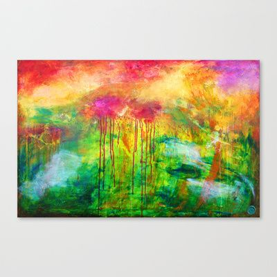 Open Heavens Stretched Canvas by Duende As Art - $85.00
