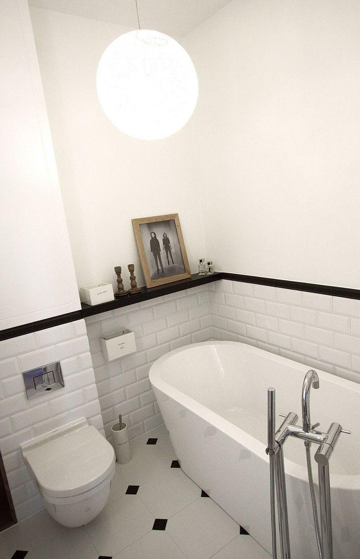 Modern bathroom decorating idea