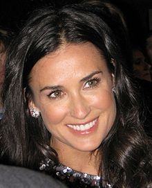Demi Moore...met her back when she was married to Bruce Willis...at Camp David (Presidential Retreat), with my late husband, sometime between 1991 & 1993...