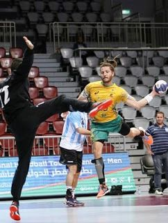 Blog Esportivo do Suíço: Seleção masculina de handebol bate Argentina na estreia em torneio no Catar