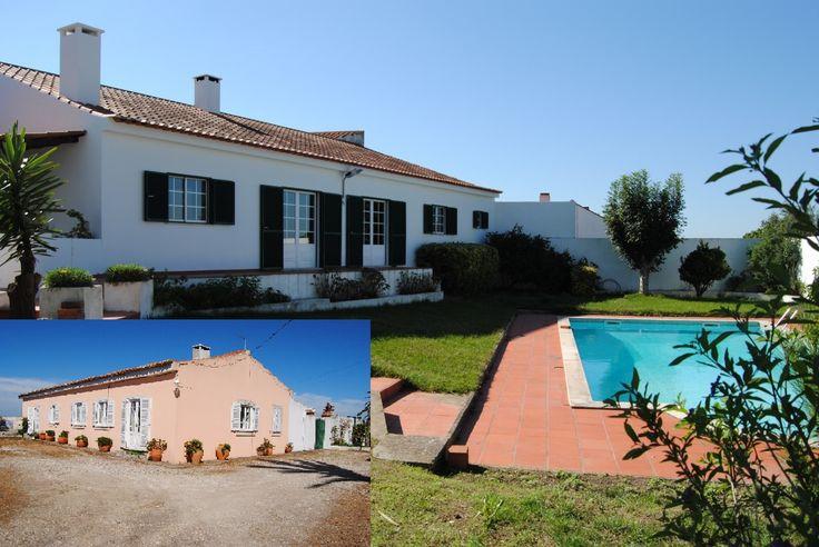 Duas moradias, piscina, pátio interno e jardim - Caldas da Rainha Ideal para duas famílias ou para transformar em turismo rural.