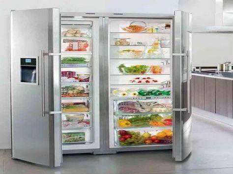 Appliances & Gadget:Full Size Refrigerator And Freezer Full Size Refrigerator And Freezer With The Vegeteble