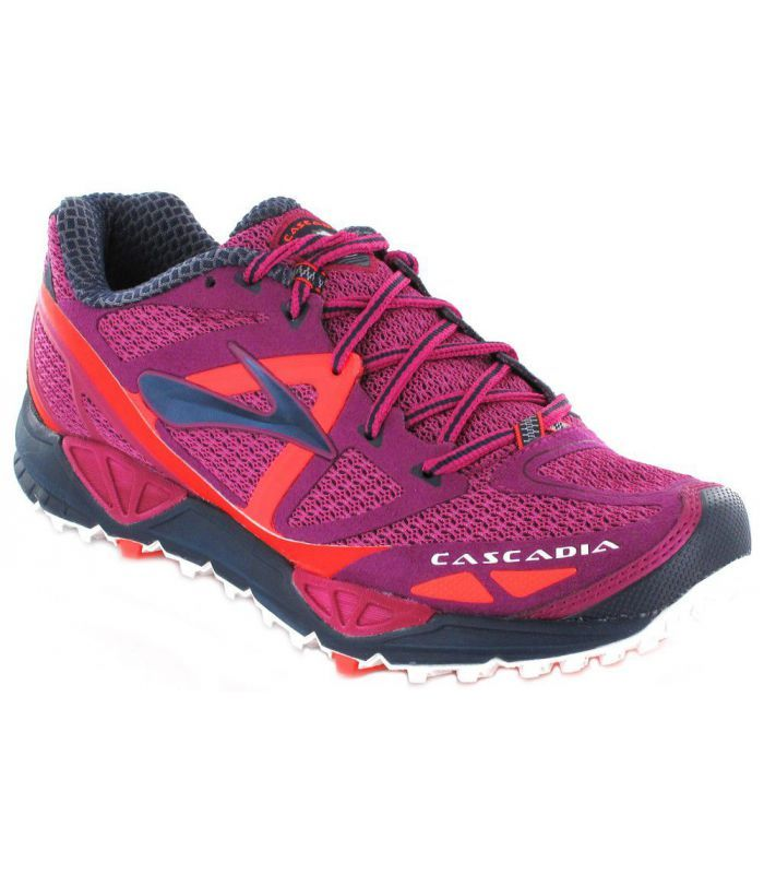 OFERTA de -20% en las zapatillas montaña y trail running Brooks Cascadia 9 Mujer. Ligeras, mucha amortiguación, para carreras largas.