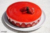 Torta mousse de frutilla