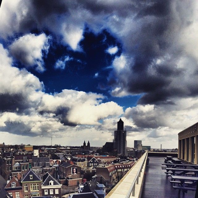 Dakterras Rozet, Arnhem #redbol