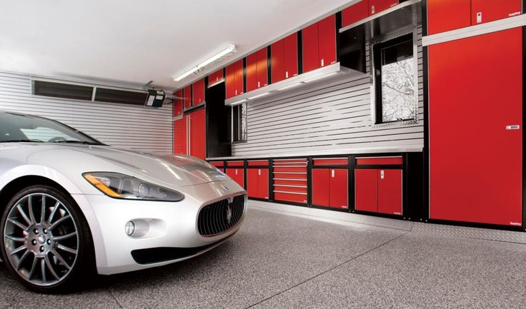 interior-modern-car-garage-interior-design-ideas-with-slatted-wall-pattern-and-grey-granite-floor-featuring-red-cabinets-and-white-countertop-amazing-car-garage-interior-design-inspirations.jpg 960×565 pixels
