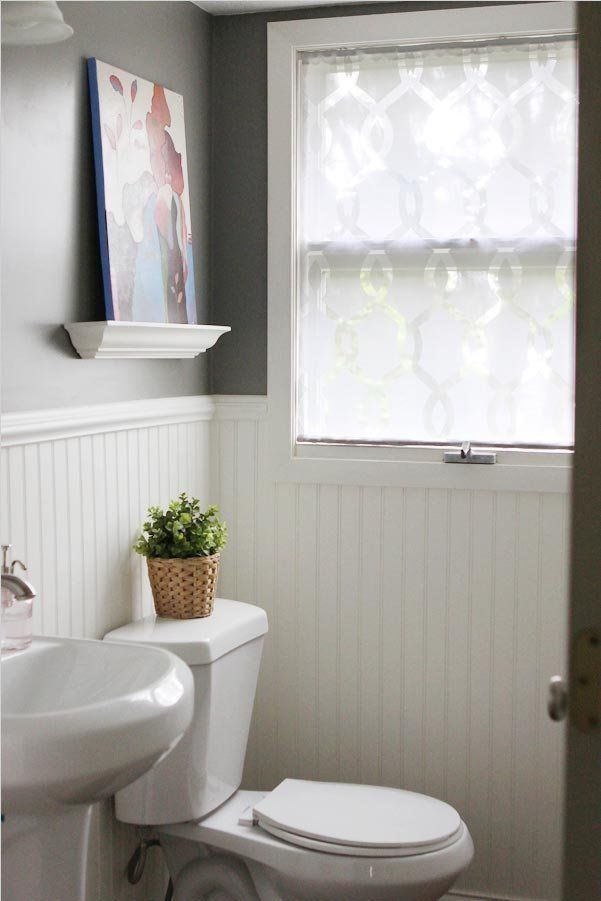 1000 ideas about bathroom window curtains on pinterest for Bathroom window curtains