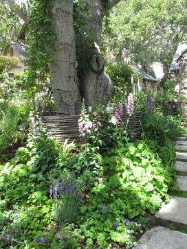 Carmel, CA Cottage - traditional - landscape - other metro - Linda L. Floyd, Inc., Interior Design