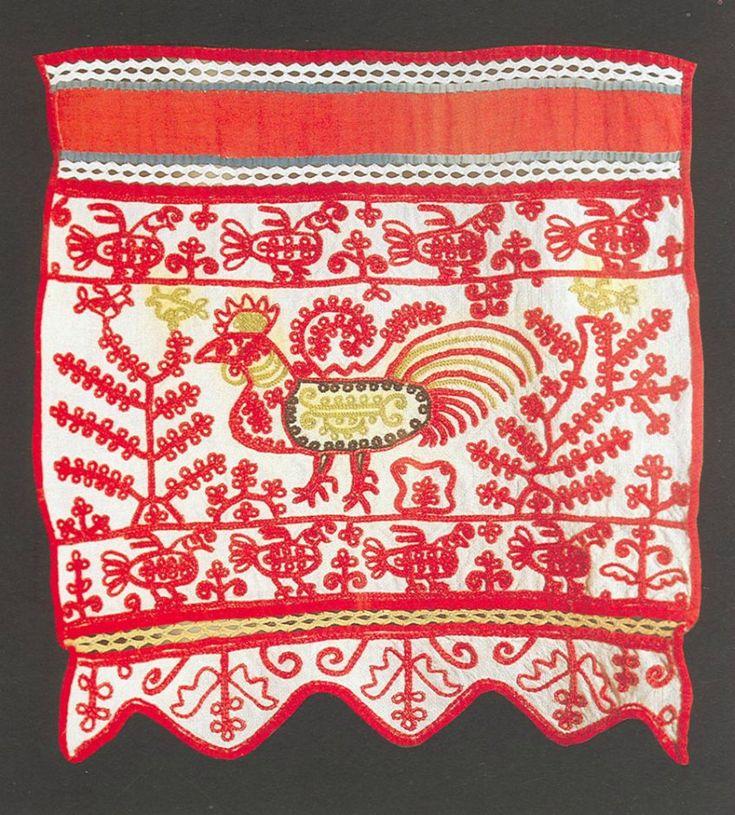 Народная вышивка символы