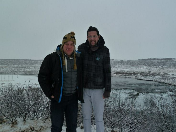 Phew, cold in Iceland!