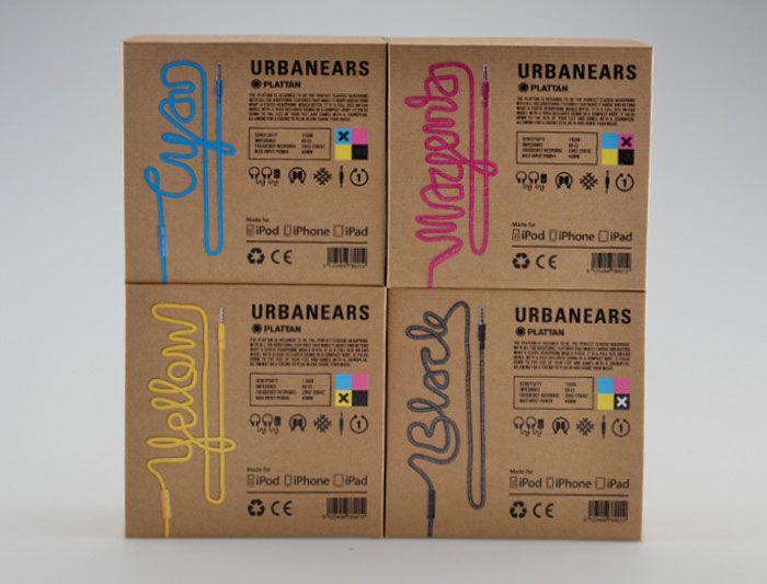 Urbanears, CMYK Edition | Designed by Erik Johansson,a Student at Broby Grafiska.