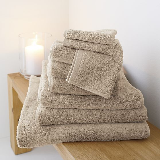 egyptian cotton towels crate and barrel