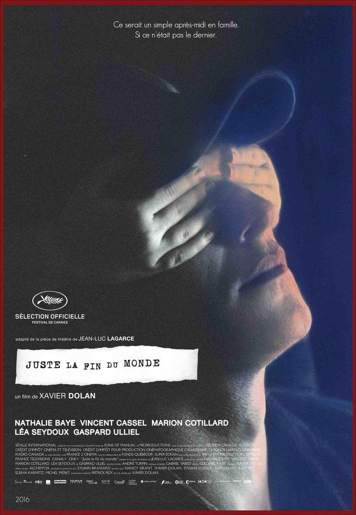 #Cannes2016 La Fin du Monde réalisé par Xavier Dolan. http://place-to-be.net/index.php/cinema/en-salles/4656-juste-la-fin-du-monde-realise-par-xavier-dolan