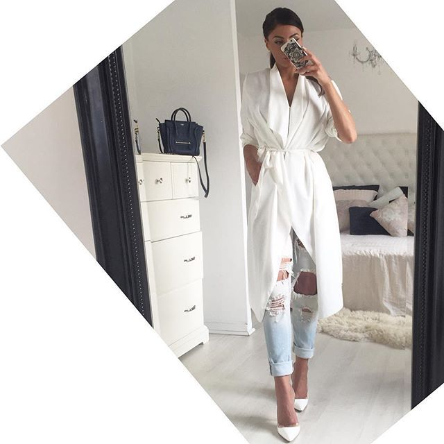 Thanks @kynacollection for this amazing summer trench ! Love it Boyfriend @mango Shoes @zara_international #inspiration #zara #kynacollection #ootd #outfit #mila #fashion #mode #model #blogger #zara #shoes #addict #lookbook