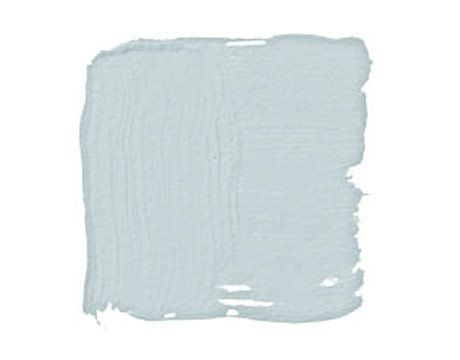 Benjamin Moore Glass Slipper: Grayish blue. A timeless neutral.