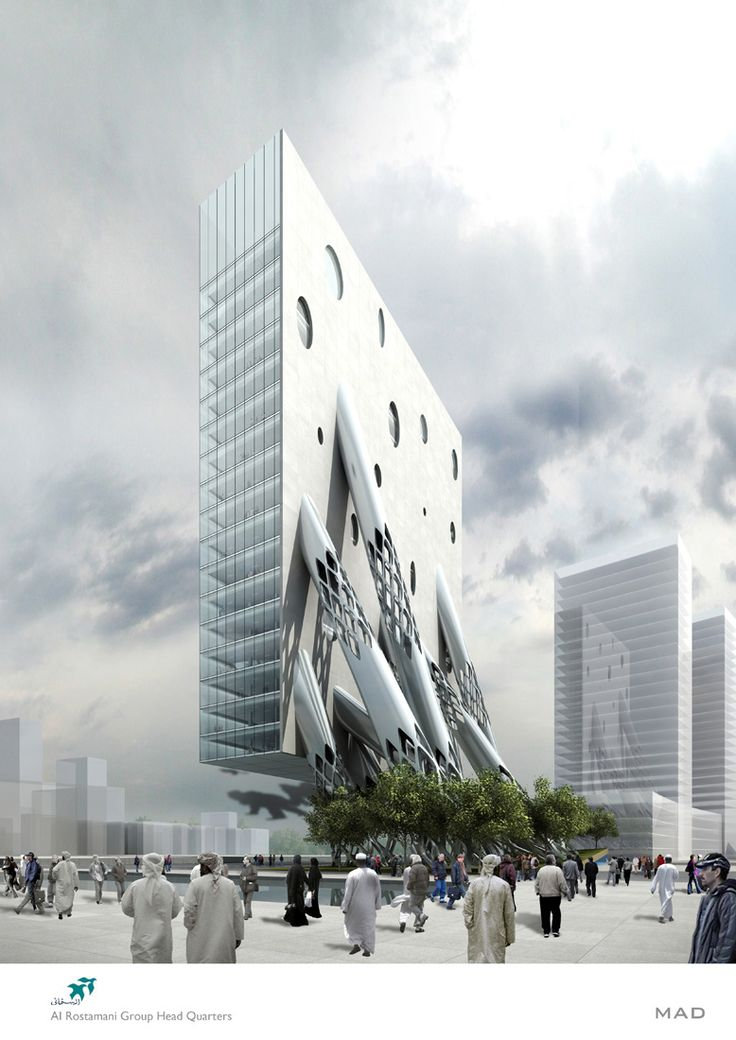 Al Rostamini Headquarters Dubai UAE By MAD Architects Proposal Future Architecture
