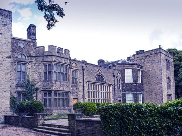 A ghostly woman in black has been seen at Bolling Hall, a 14th century manor considered one of the most haunted buildings in West Yorkshire, England.
