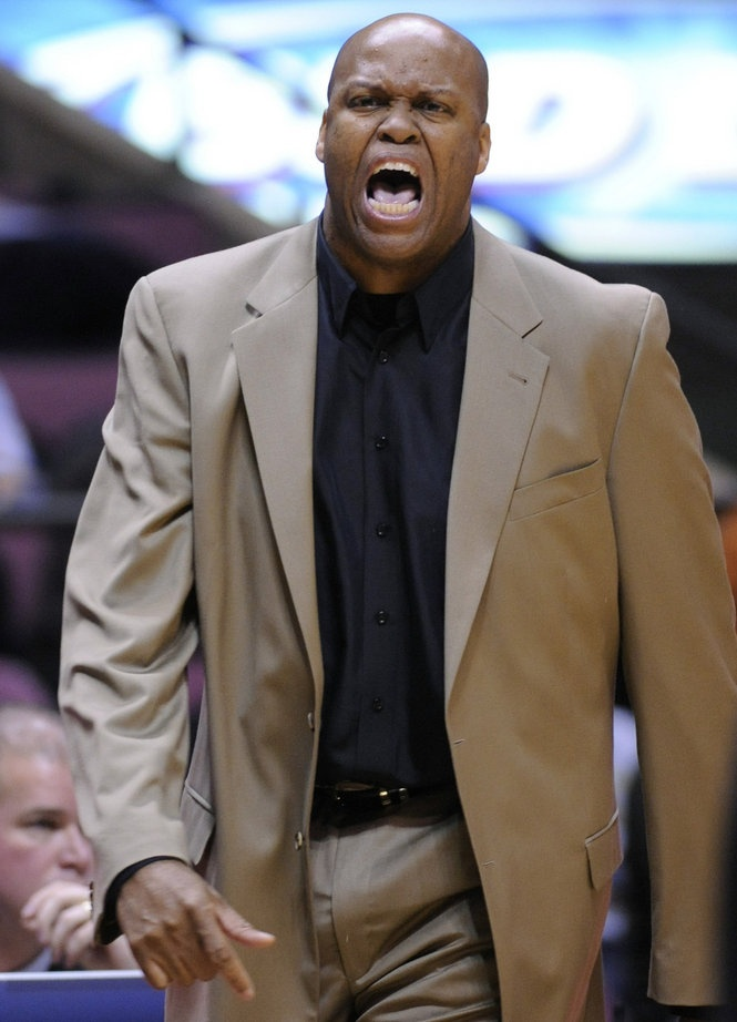 Oregon State Beavers men's basketball coach Craig Robinson. Brother of First Lady, Michelle Obama.