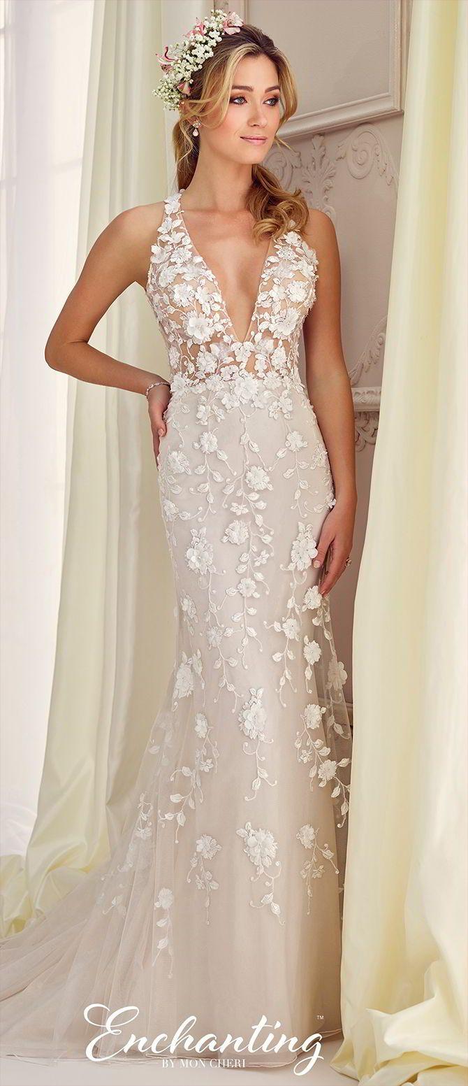 398 best Fit & Flare Wedding Dresses images on Pinterest