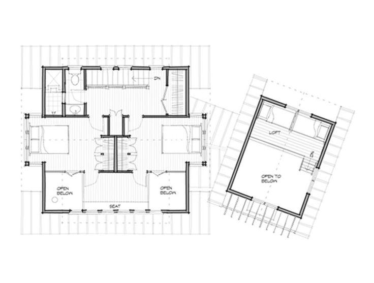 Vacation Cabin Floor Plans Lake Cabin Designs Floor Plans