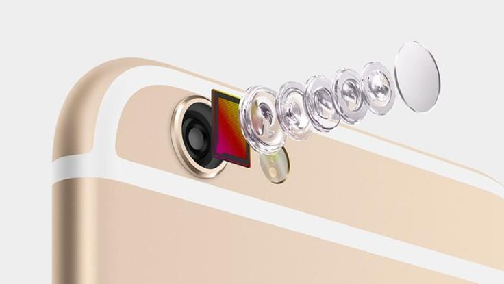 iPhone 6 has an 8MP iSight camera, with True Tone flash; large, 1.5-micron pixels; and f/2.2 aperture #applelive pic.twitter.com/qvQFuF0M31