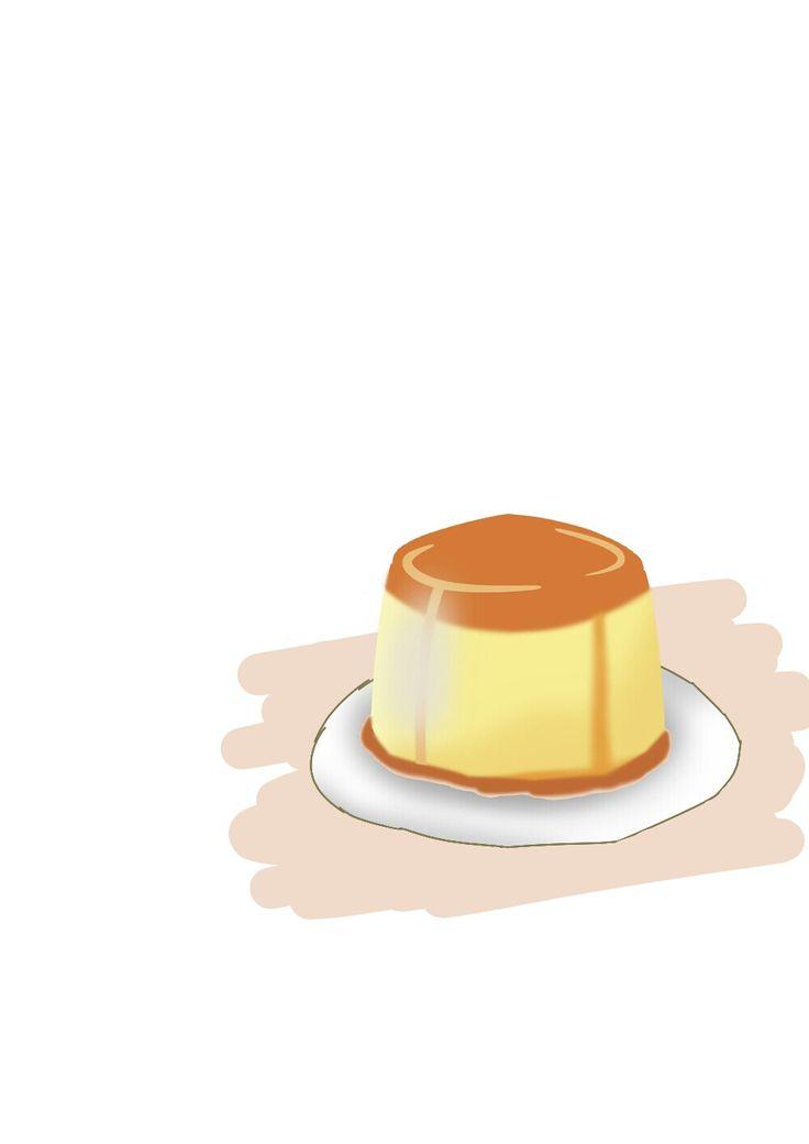 Puddingggg! #pudding #drawing #digitalart #try #food