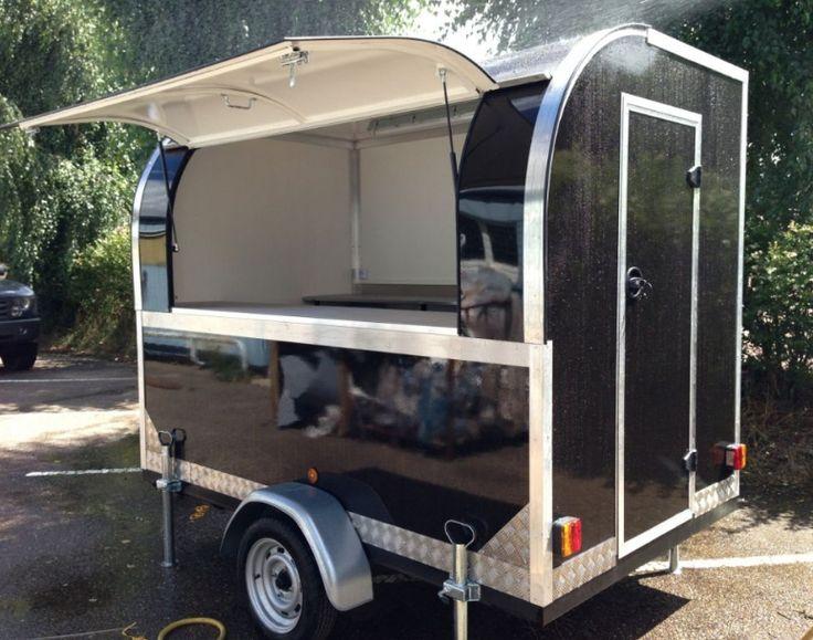 Remorque food truck pour creperie mobile food truck - Remorque cuisine barbot ...