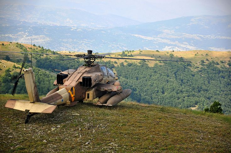 Flickr - Israel Defense Forces - Israeli Apache helicopter overlooks the Greek hills - Boeing AH-64 Apache - Wikipedia, the free encyclopedia