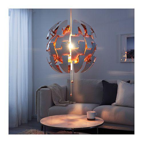 IKEA PS 2014 Pendant lamp, white, copper color white/copper color 20