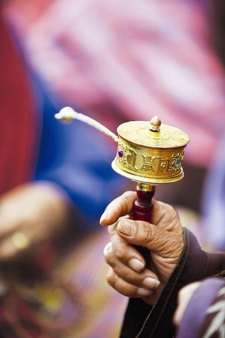 Molinillo de plegaria Budismo mahayana, Bután
