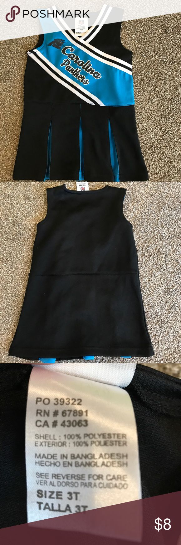 3T Panthers cheerleader outfit Excellent condition, worn maybe a couple of times Costumes