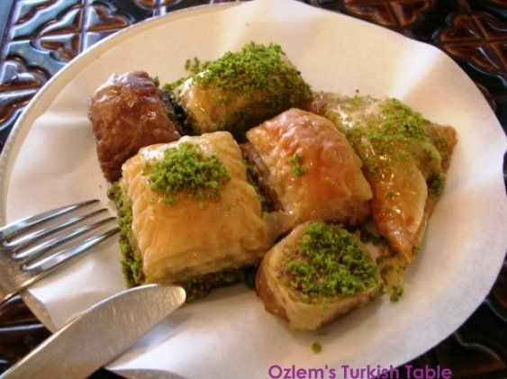 The irresistable baklava; we will have a go at it during my CM Turkish cooking class