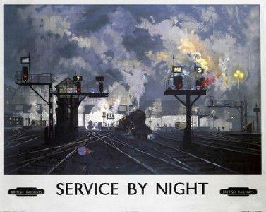 British railway poster