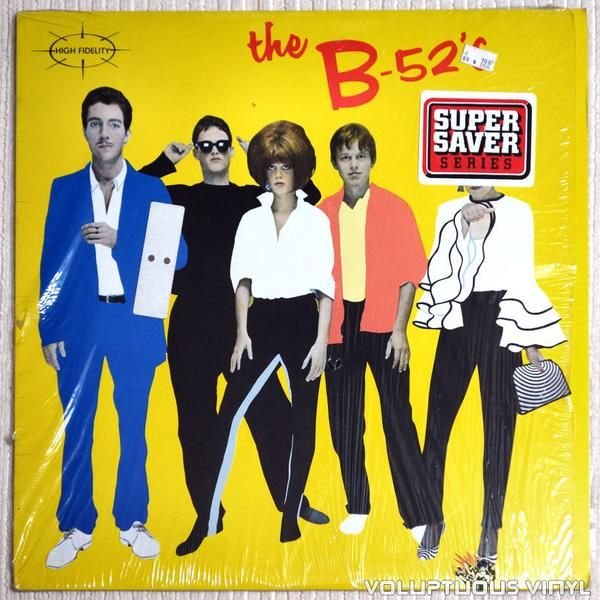 Debut album from Georgia based new wave band The B-52's