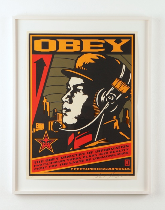 les 58 meilleures images du tableau shepard fairey street art sur pinterest affiches art. Black Bedroom Furniture Sets. Home Design Ideas
