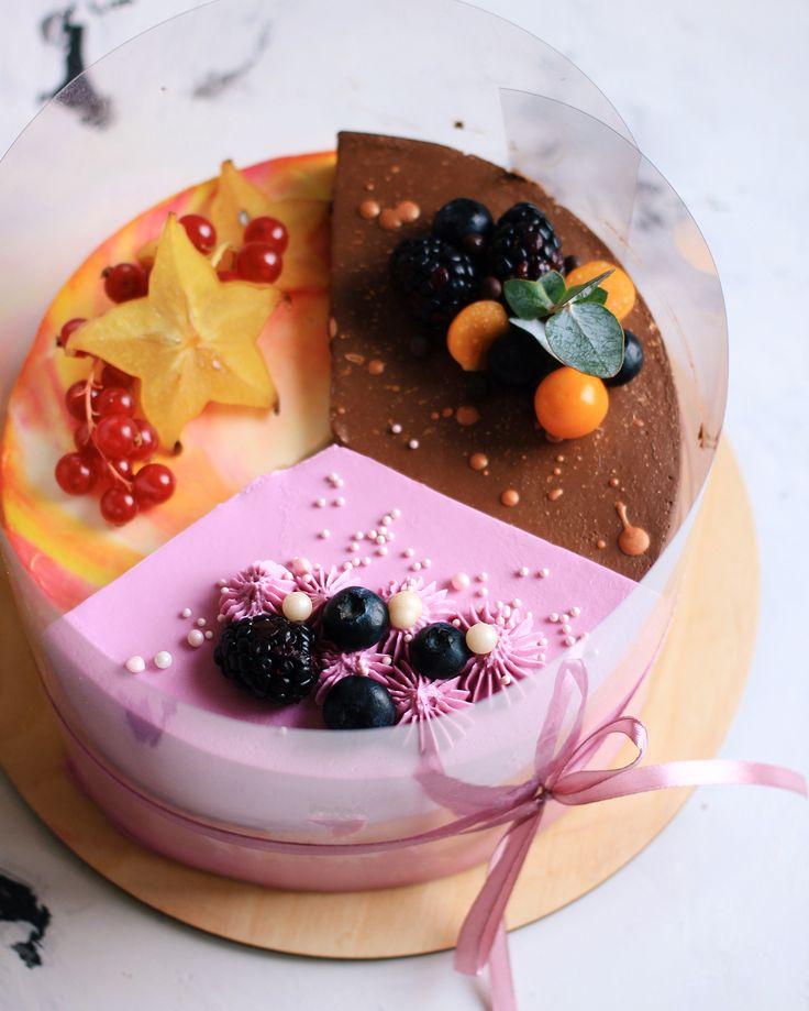 красивая картинка торта четвертинки первый