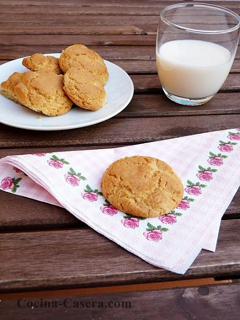Galletas de mantequilla clásicas. Receta fácil y sencilla   Recetas de Cocina Casera   Recetas fáciles y sencillas