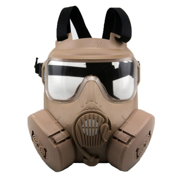 Paintball Tactical Airsoft Game Face Protection Safety Mask Guard tactical Gas Mask