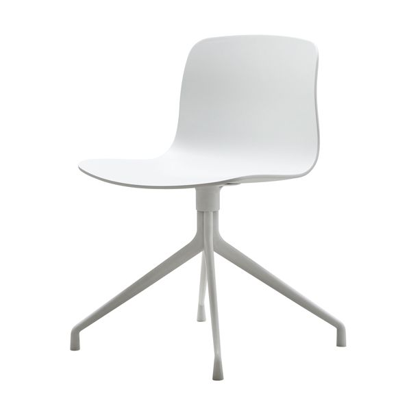 About A Chair without armrest, white